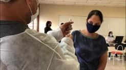 Vacina Pfizer começa a ser aplicada em Porto Velho — Foto: Marisson Dourado/CBN