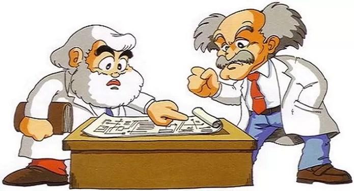 Dr. Light e Dr. Wily foram inspirados em Thomas Edison e Albert Einstein (Foto: Reprodução / Whatculture)