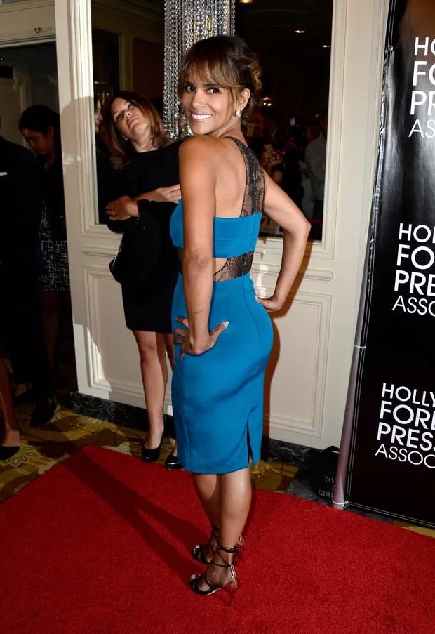 Halle Berry em evento em Los Angeles, nos Estados Unidos (Foto: Frazer Harrison/ Getty Images/ AFP)