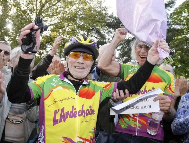 Ciclismo Robert Marchand (Foto: Agência Reuters)