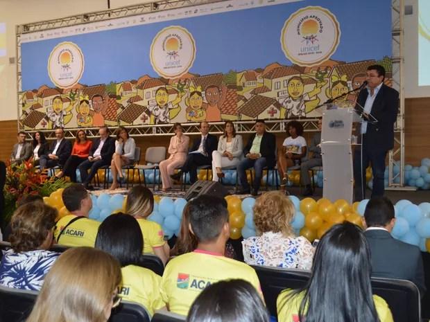 Selo é um reconhecimento internacional por seus avanços nas áreas de Saúde, Educação, Proteção e Participação Social em direção à redução das desigualdades que afetam as vidas de crianças e adolescentes (Foto: Assecom)
