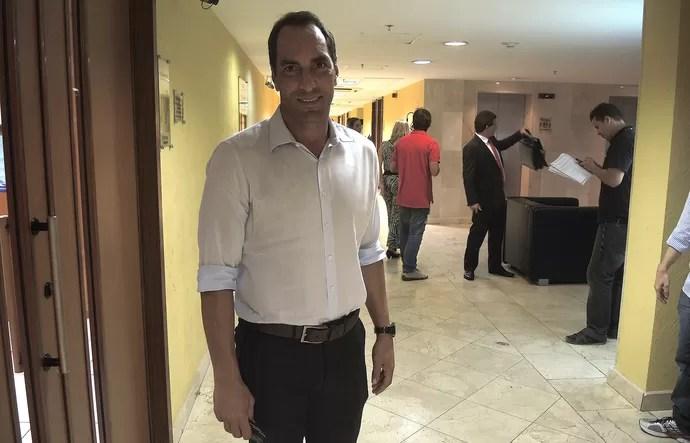Ex-jogador Edmundo (Foto: Thiago Lima)