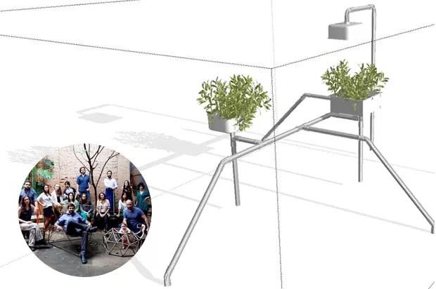 Bicicletários de design (Foto: Divulgação)
