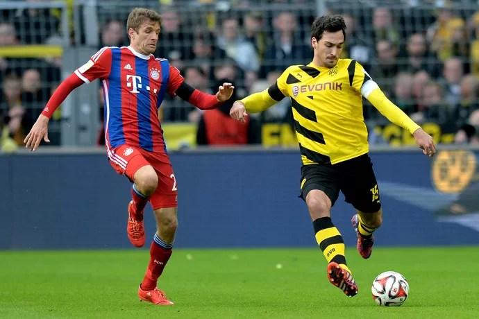 Hummels Müller Borussia Dortmund Bayern (Foto: Getty Images)