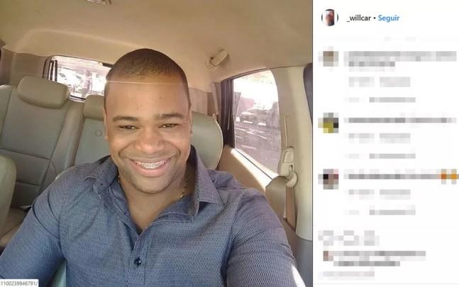 William Oliveira foi baleado pelo influencer Iuri Sheik, ficou internado por dois dias, mas não resistiu — Foto: Reprodução/Instagram