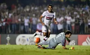 São Paulo x River Plate Alan Kardec (Foto: Marcos Ribolli)