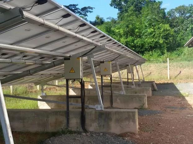 sistema energia solar, comunidade, reclama, conclusão, não funciona, Macapá, Amapá (Foto: Moisés Cardoso/ Arquivo Pessoal)