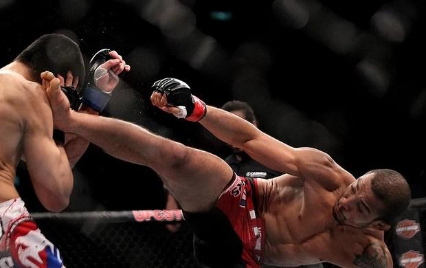 UFC José Aldo x Chan Sung Jung zumbi coreano (Foto: Agência EFE)