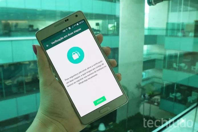 whatsapp_verificacao_2_marca WhatsApp mais seguro: perguntas e respostas sobre o código de acesso