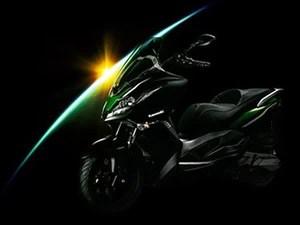 kawasaki scooter (Foto: Divulgação)