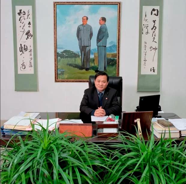Escritório chinês (Foto: Jan Banning/Divulgação)