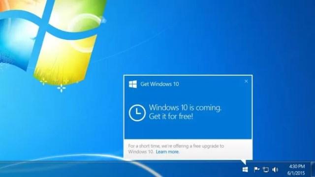 Resultado de imagem para Windows 7 para windows 10