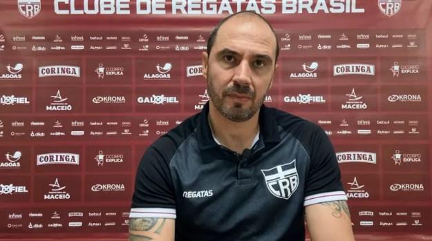 Allan Aal fala sobre a reta final do Brasileiro — Foto: Reprodução/CRB