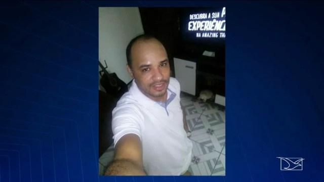 Ademar Moreira foi morto enquanto dirigia na Avenida Litorânea.  (Foto: Reprodução/TV Mirante)