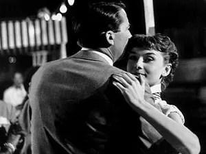 Gregory Peck e Audrey Hepburn em 'A princesa e o plebeu' (Foto: Divulgação)