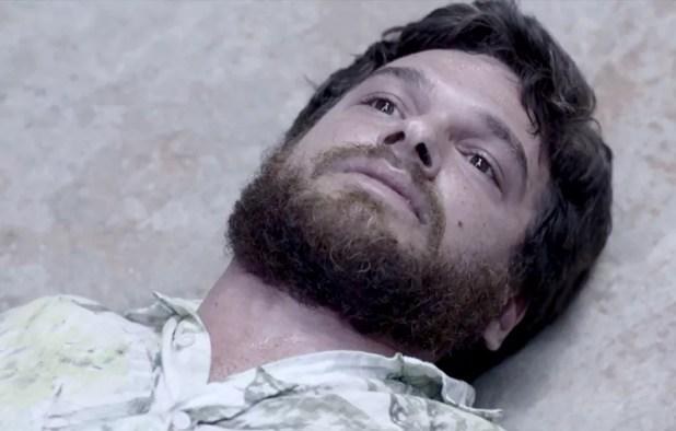 Rubinho é morto por Sabiá (Foto: TV Globo)