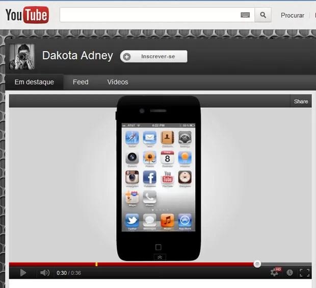 Segundo Dakota Adney, aparelho terá chip de quatro núcleos (Foto: Reprodução)