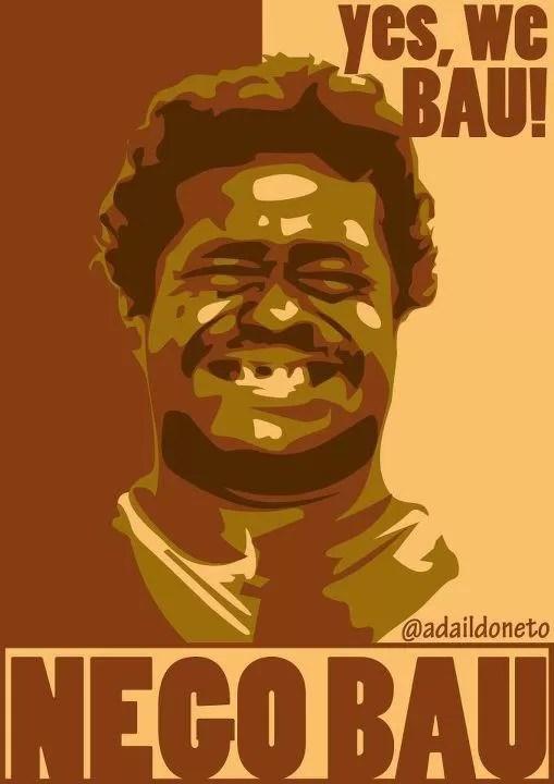 Nego Bau chegou a ser destaque em várias montagens nas redes sociais  (Foto: Divulgação)
