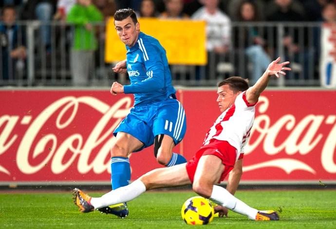 Bale Almería e Real Madrid (Foto: Agência AP )