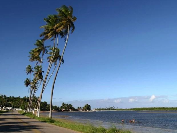 Praia de Barra de Cunhau  (Foto: Canindé Soares)