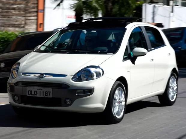 Fiat traz novo conteúdo ao Punto (Foto: Flavio Moraes/G1)