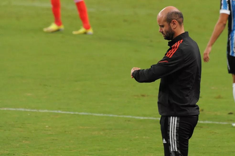 Miguel Ángel Ramírez, técnico do Inter — Foto: Wesley Santos/Agência PressDigital