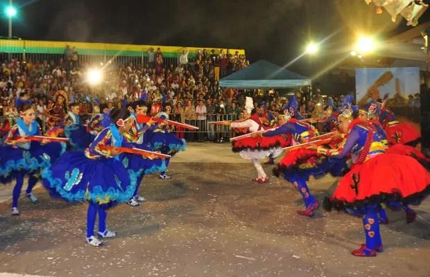 Grupos de quadrilha se apresentam nas festas juninas de Goiás (Foto: Divulgação Secult Goiânia)