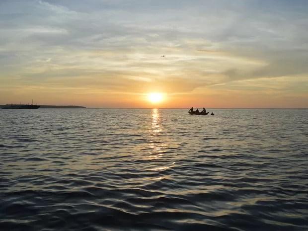 Rio Tapajós, em Santarém, oeste do Pará (Foto: Armando Carvalho)