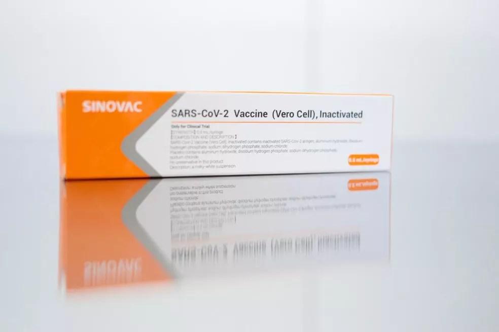Vacina chinesa contra Covid-19 começa a ser aplicada em profissionais de saúde voluntários a partir desta terça (21) — Foto: Divulgação/Governo do Estado de São Paulo