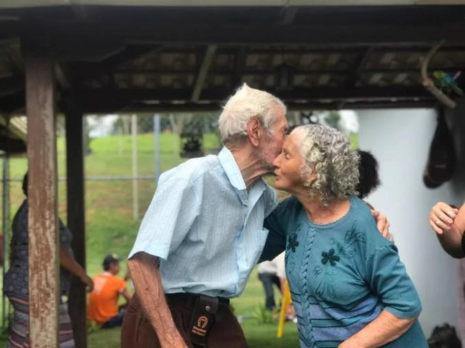 Antônio e Luiza morreram com dez dias de diferença — Foto: Arquivo pessoal
