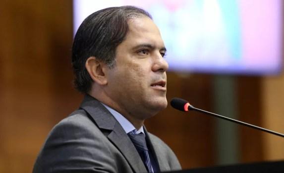Deputado Paulo Araújo — Foto: JL Siqueira/ ALMT