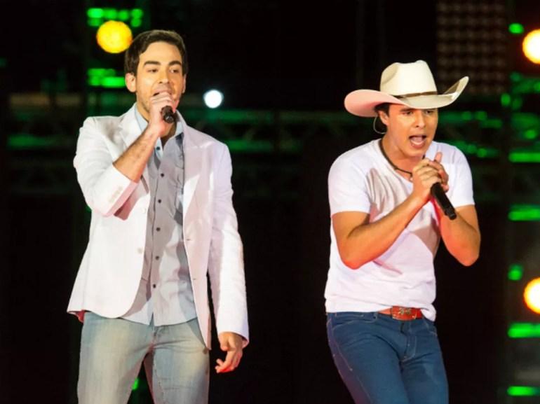 Conrado e Aleksandro se apresentam no dia 6 de setembro  — Foto: Divulgação/Fábio Nunes