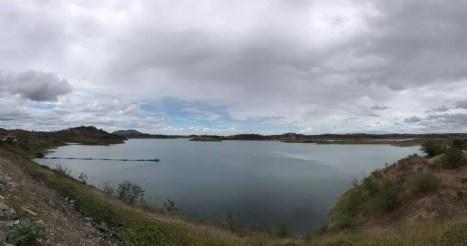 Açude de Boqueirão, no Cariri da PB — Foto: Artur Lira/G1