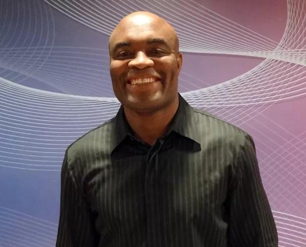 Anderson Silva (Foto: Domingão do Faustão / TV Globo)