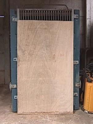 No zoológico, a onça foi colocada em local fechado para não estressar o animal (Foto: reprodução/TV Tem)