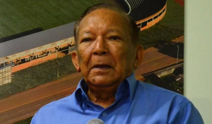 José Eugênio Leão Braga, Macapá, presidente do indenpendência-AC (Foto: Duaine Rodrigues)