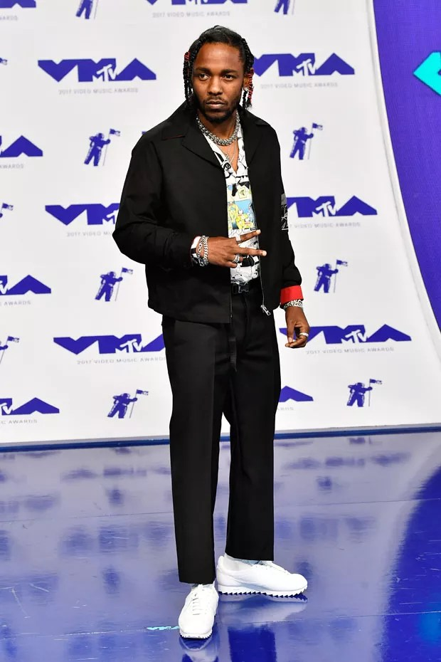INGLEWOOD, CA - AUGUST 27:  Kendrick Lamar attends the 2017 MTV Video Music Awards at The Forum on August 27, 2017 in Inglewood, California.  (Photo by Frazer Harrison/Getty Images) (Foto: Getty Images)