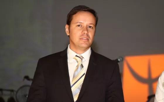 Promotor Reynaldo Mapelli Júnior (Foto: Arquivo pessoal)
