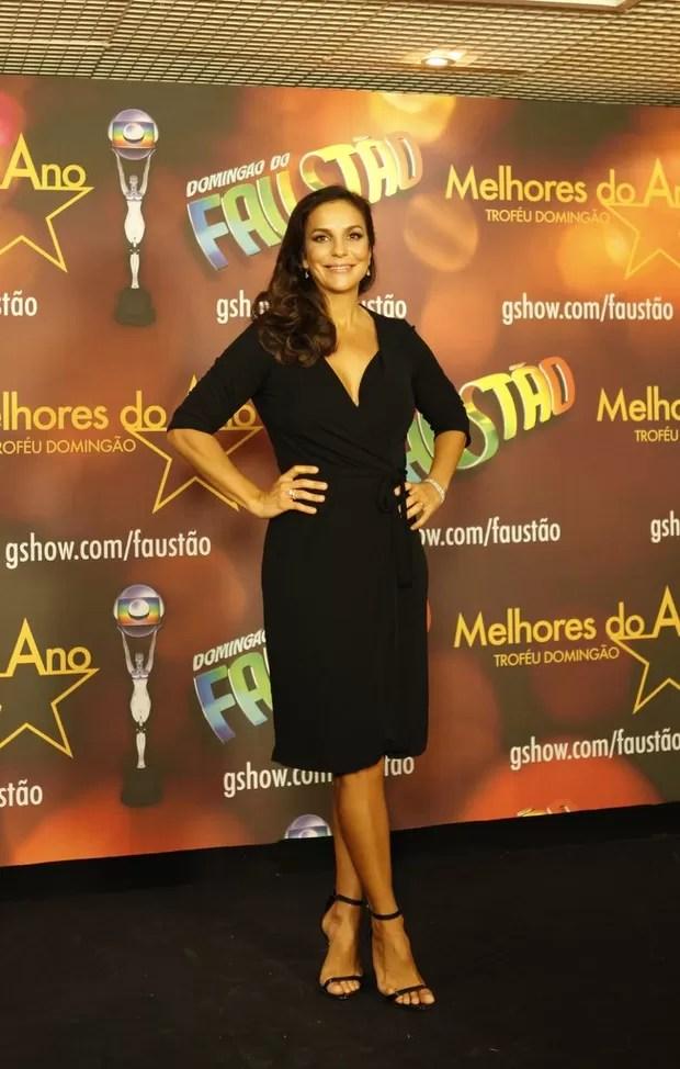 Ivete Sangalo no Prêmio Melhores do Ano (Foto: Marcos Serra Lima / EGO)