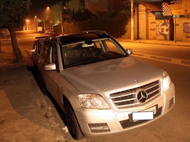 Carro de Casagrande é localizado na mesma região de São Paulo (Foto: Edison Temoteo/Futura Press/Estadão Conteúdo)