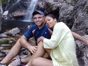 Namorados aproveiram belezas e romantismo da Serra da Canastra (Foto: G1/G1)