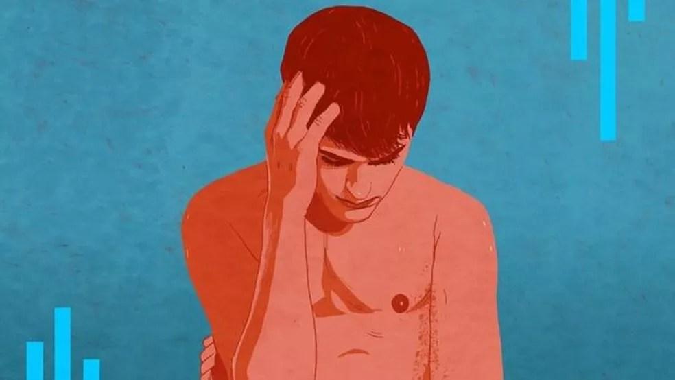 'A maioria dos jovens tem camisinha na carteira; eu levava Viagra na minha' (Foto: REBECCA HENDIN/BBC THREE)