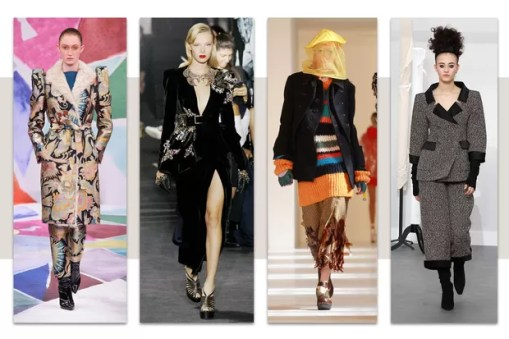 Schiaparelli, Elie Saab, Maison Margiela e Chanel, alta-costura, inverno 2017 (Foto: Getty Images)