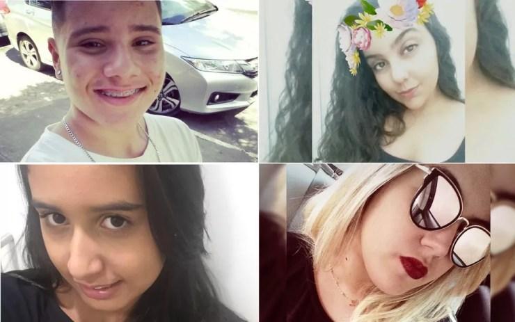 Quatro adolescentes ficaram feridos em ataque dentro de escola em Goiânia, Goiás (Foto: Reprodução/TV Anhanguera)