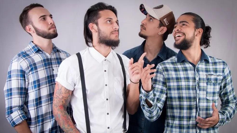 De Campina Grande, a banda Hozen se apresenta no Grito Rock João Pessoa 2018 (Foto: Beat Audiovisual/Divulgação)