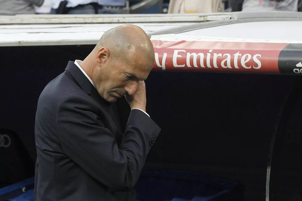 Zidane estaria a perigo no comando do Real Madrid (Foto: EFE / Kiko Huesca.)
