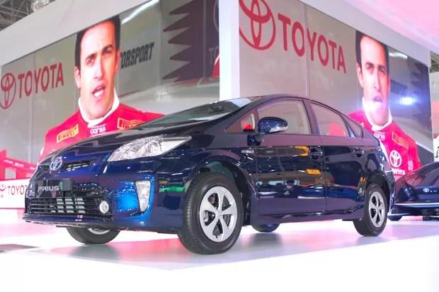 Toyota Prius (Foto: Louise Calandrino/ G1)