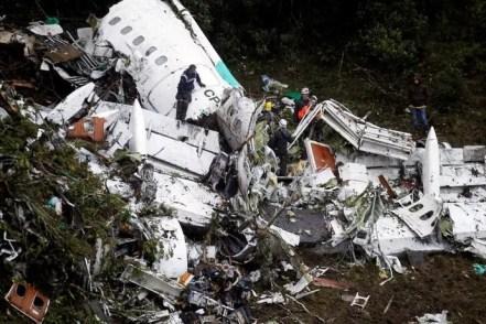 Acidente avião chapecoense  (Foto: Agência Reuters)