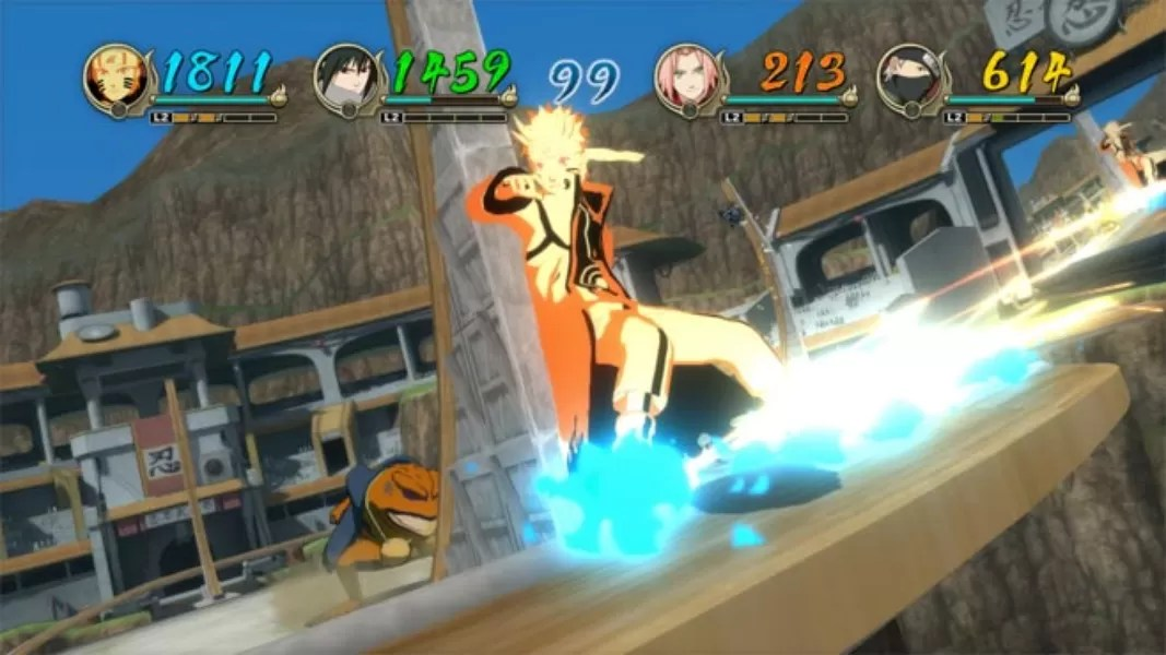 Naruto Shippuden Ultimate Ninja Storm Revolution Jogos