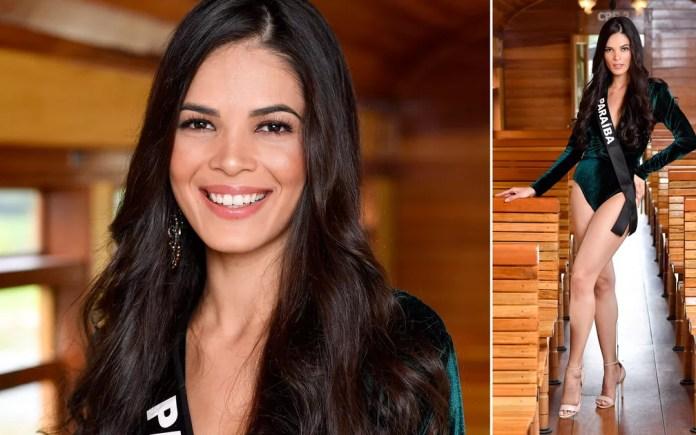 Kennya Araújo, 26 anos, modelo, é a Miss Paraíba — Foto: Rodrigo Trevisan/Divulgação/Miss Brasil